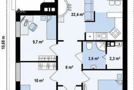 Дом из бруса 052