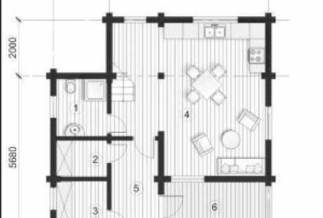 Дом из бруса 037