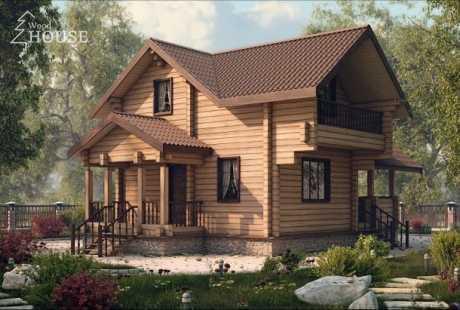 Дом из бруса 031