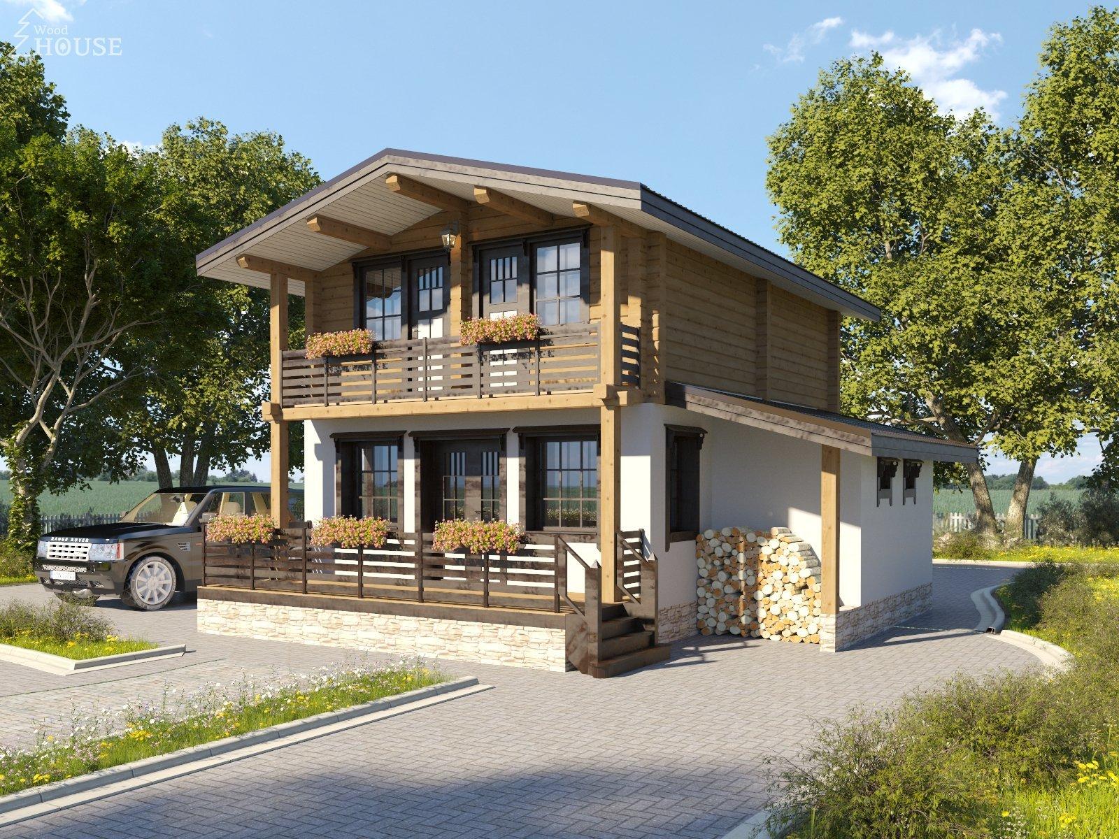Комбинированные дома под ключ проекты и цены